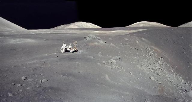 Perhaps the core reason we have not returned to the Moon since Apollo is depicted in this image from Apollo 17: we failed to find anything of a compelling nature that drew us to return.
