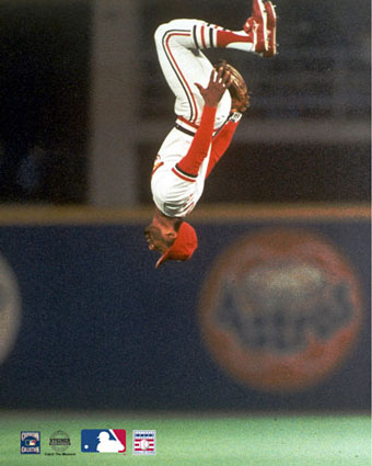 Hall of Famer Ozzie Smith anchored the 1980s Cardinals' infield at shortstop.