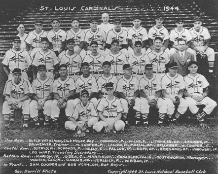 Image result for 1944 st. louis browns