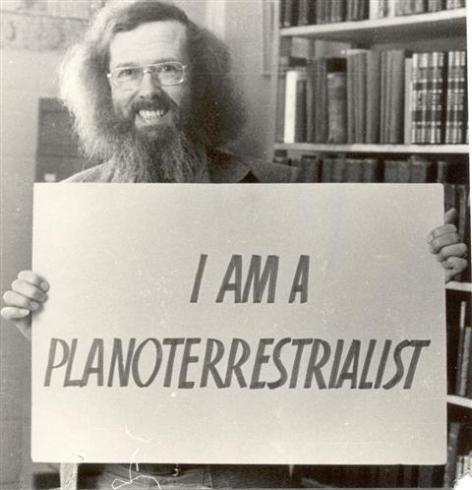 Leo Ferrari, the philosophy professor who co-founded the Flat Earth Society in 1970.