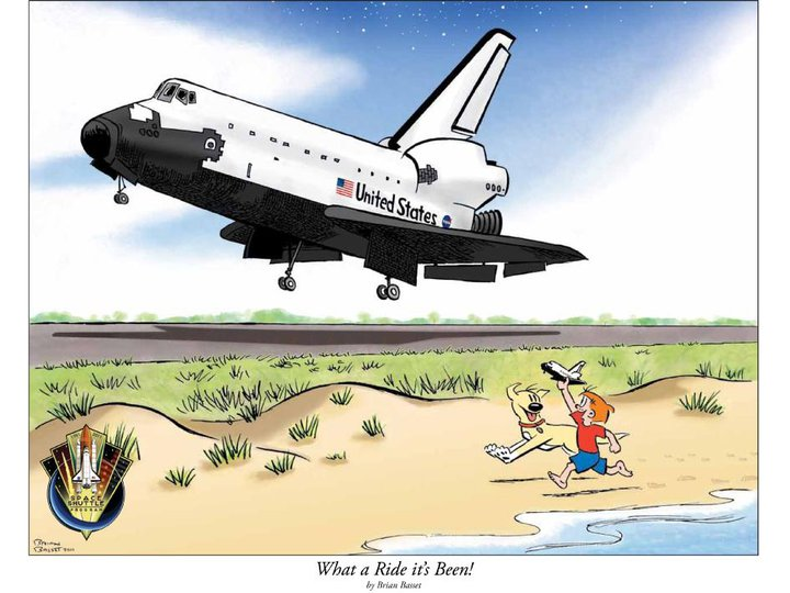 Criticism of the Space Shuttle program