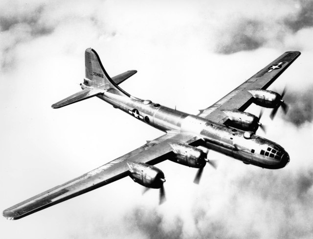 The B-29 built by Boeing during World War was a critical new technology that transformed post-war aviation.
