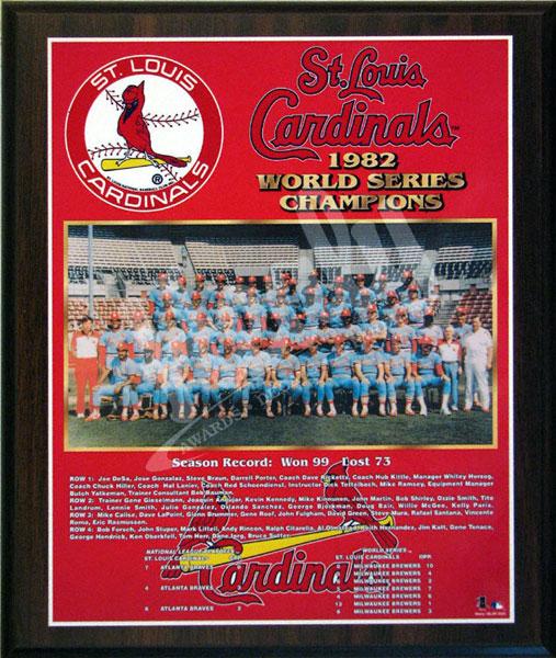 Louis Cardinals World Series Champions Team Plaque 3311693