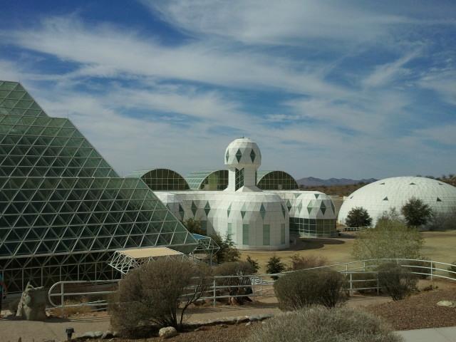 Bioesphere 2 outside of Tucson, Arizina.