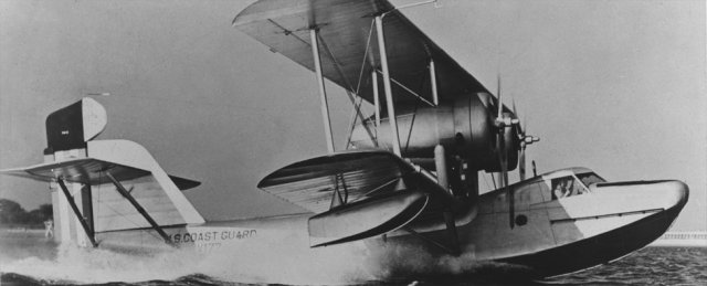 Air-sea rescue version of Navy PH-1 patrol bomber. Aircraft was a bi-plane with fabric covered aluminum alloy wings metal hull and floats. Used for search & rescue and during WWII for anti-submarine warfare.