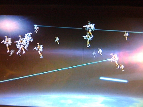 The space battle sequence from the James Bond film, Moonraker (1979). Is this the future of the military in space?