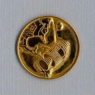 Apollo 1 Medallion,