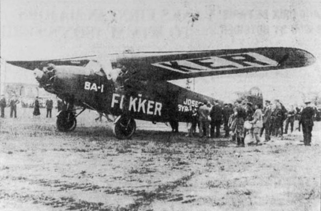 March Radness!!! : Official March BOB Bombing Run Fokker-byrd-plane-660