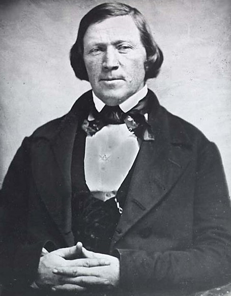 Brigham Young, Prophet-President of the Church of Jesus Christ of Latter-day Saints.