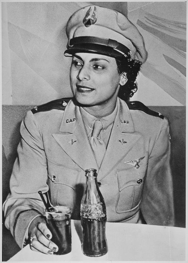 Willa Brown in her C.A.P. uniform.