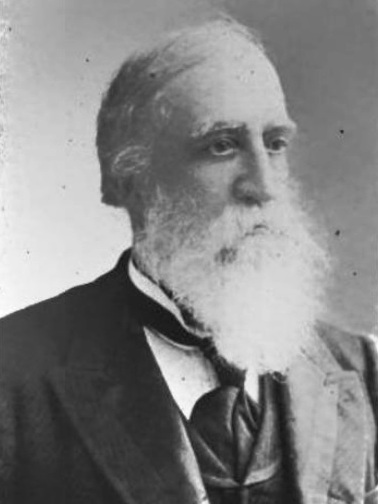 Joseph Smith III (1832-1914) late in life.