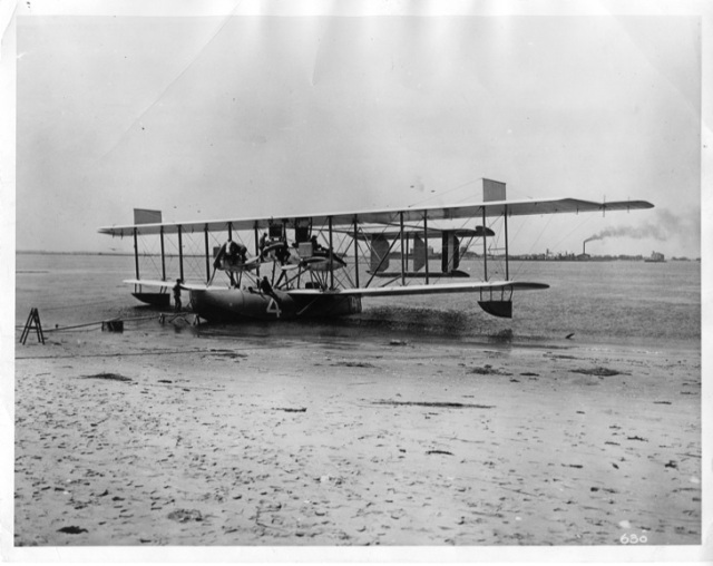 Navy NC-4, designed by Jerome Hunsaker, George C. Westervelt, and Holden C. Richardson.