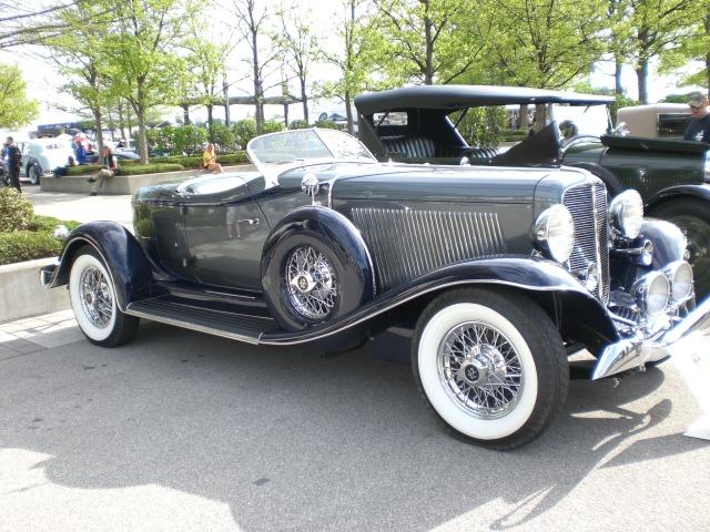 1933 Auburn speedster.