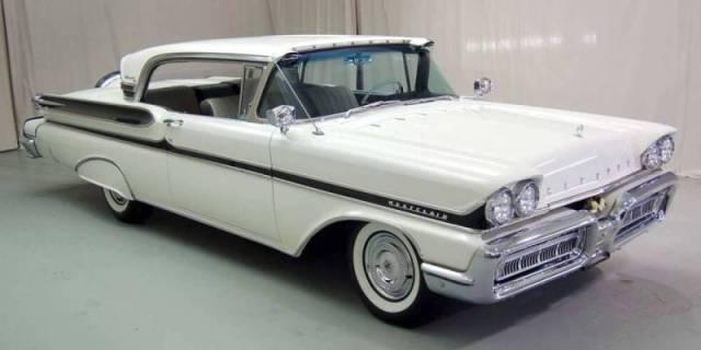 1958 Mercury Turnpike Cruiser.