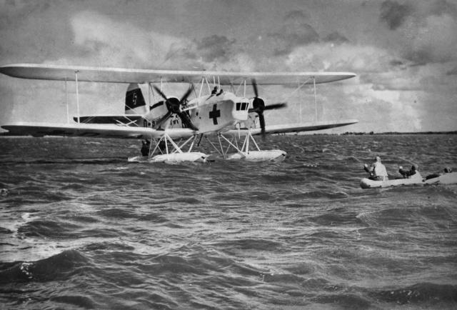 Heinkel-59 Floatplane.