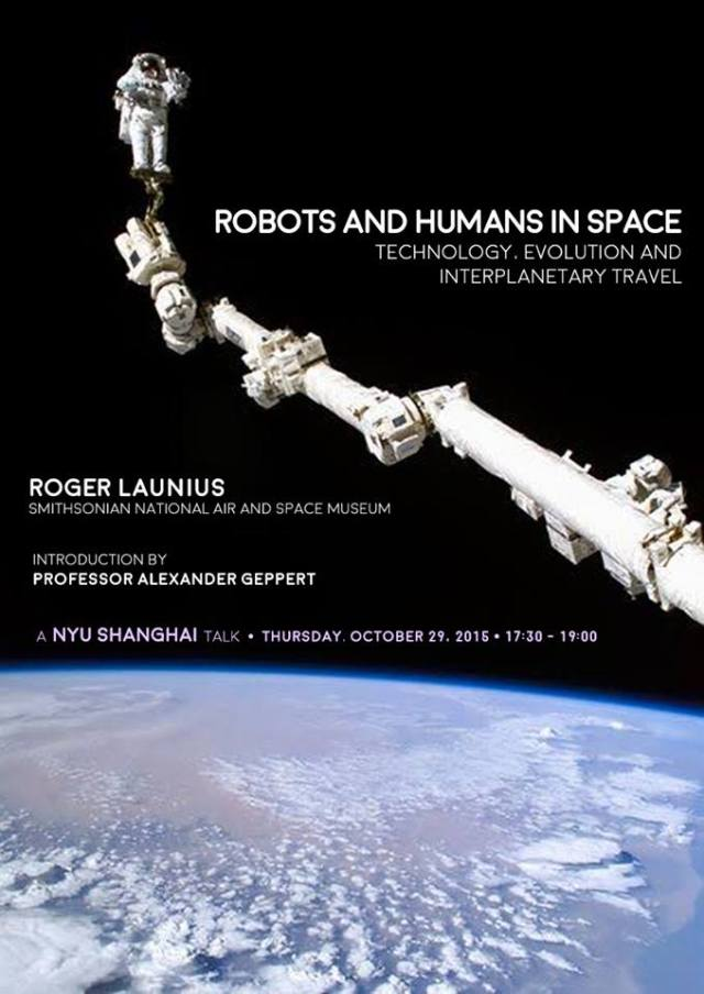 Robots in Space Poster