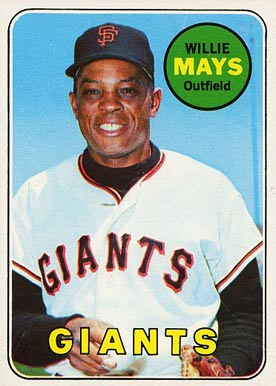 Willie Mays in San Francisco.
