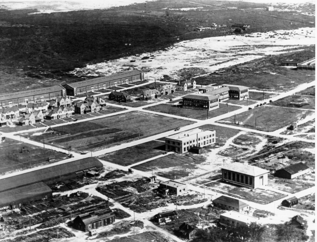 The Langley Memorial Aeronautical Laboratory in 1920.