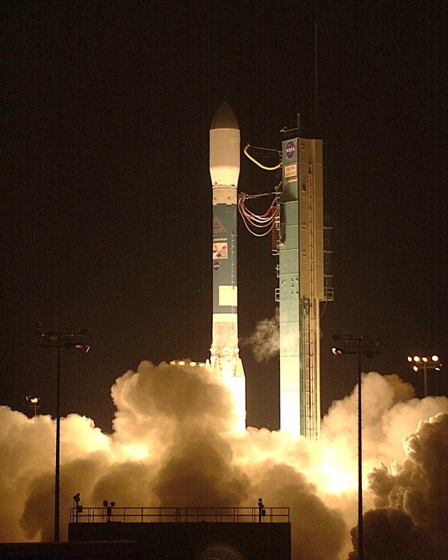 A Delta II launch.